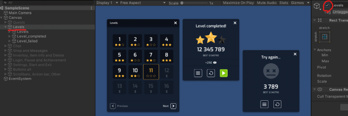 Flat-Min-GUI-Pack Level WIndow